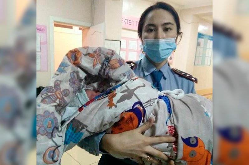 Сотрудница полиции приняла роды у сельчанки в СКО