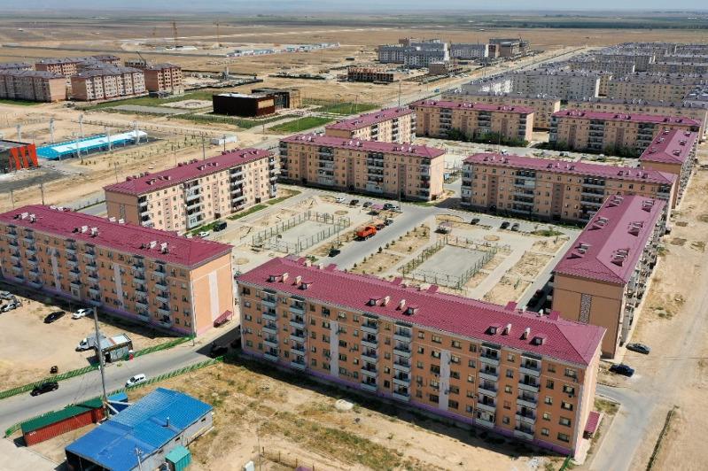 В 2,5 раза выросло строительство жилья в Туркестане в 2020 году