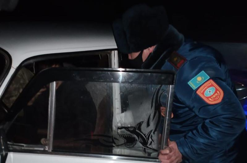 9 stuck in snow rescued in Karaganda rgn