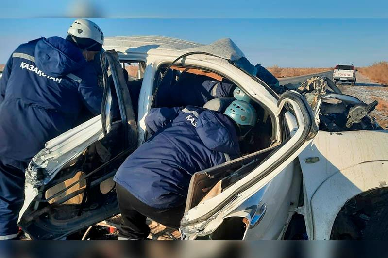 Қызылордадағы жол апатынан тағы екі адам көз жұмды