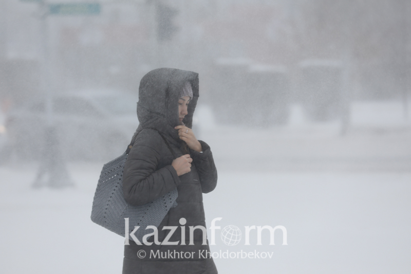 Blizzard and fog heading to 4 regions of Kazakhstan