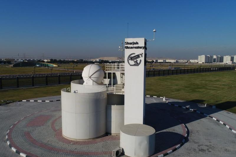 Sharjah Astronomical Observatory records new global achievement