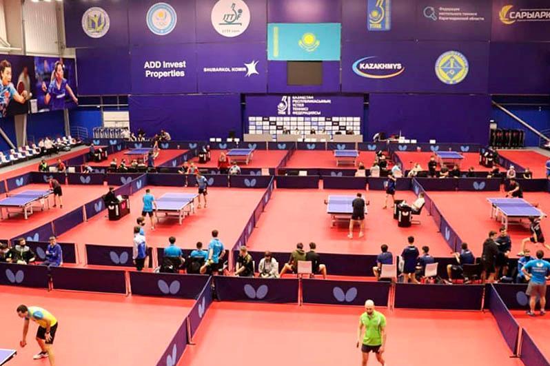 西哈州代表队赢得全国乒乓球冠军杯