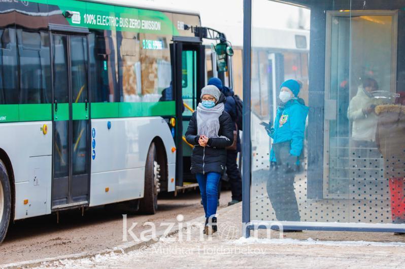 Астанада осы жексенбіде автобус жүрмейді