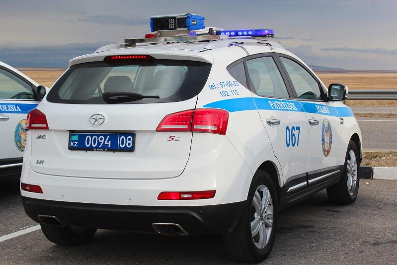 О результатах работы мобильных комплексов «АРКАН» рассказали жамбылские полицейские
