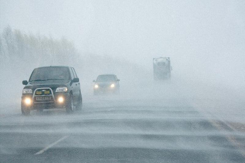 Участок автодороги «Северный обход Актобе» закрыли из-за метели