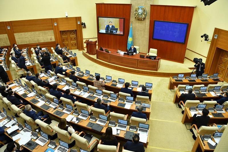 Majilis holds its first plenary session