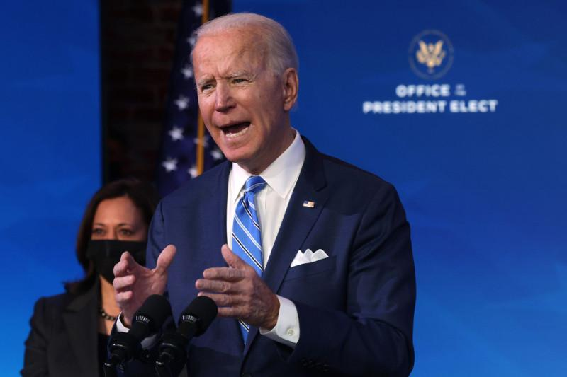 Biden proposes $1.9 tril. virus relief package before taking office