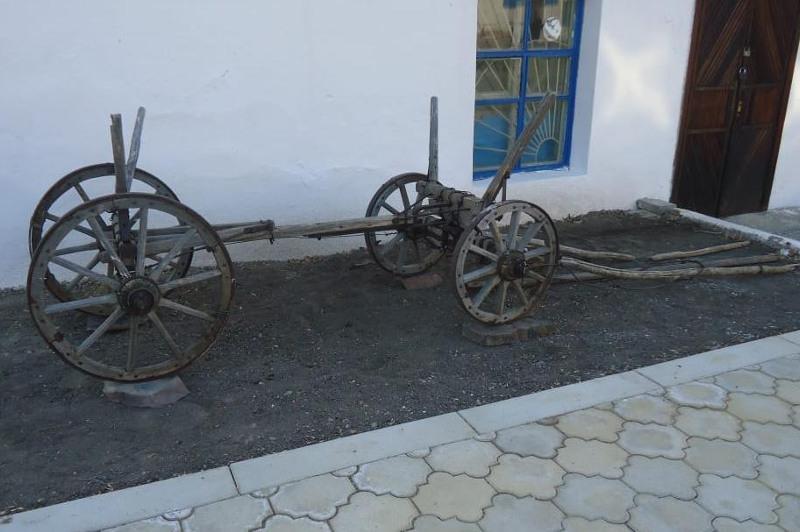 Редким экспонатом пополнился музей истории горного и плавильного дела посёлка Жезды