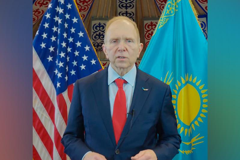 U.S. Diplomatic Mission in Kazakhstan launches '30 Years Together' campaign