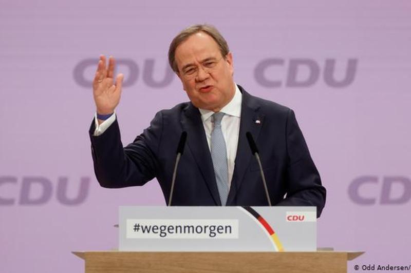 Ангель Меркель партиясына Армин Лашет басшылық жасайды