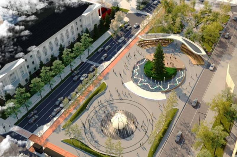 Елорданың орталық алаңы қалай түрленеді: Урбанистика орталығының нобайы