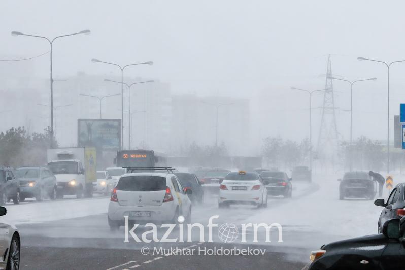Weather forecast for regions of Kazakhstan Jan 17
