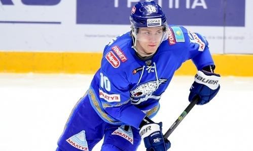 Хоккеист «Барыса» оформил хет-трик в матче КХЛ