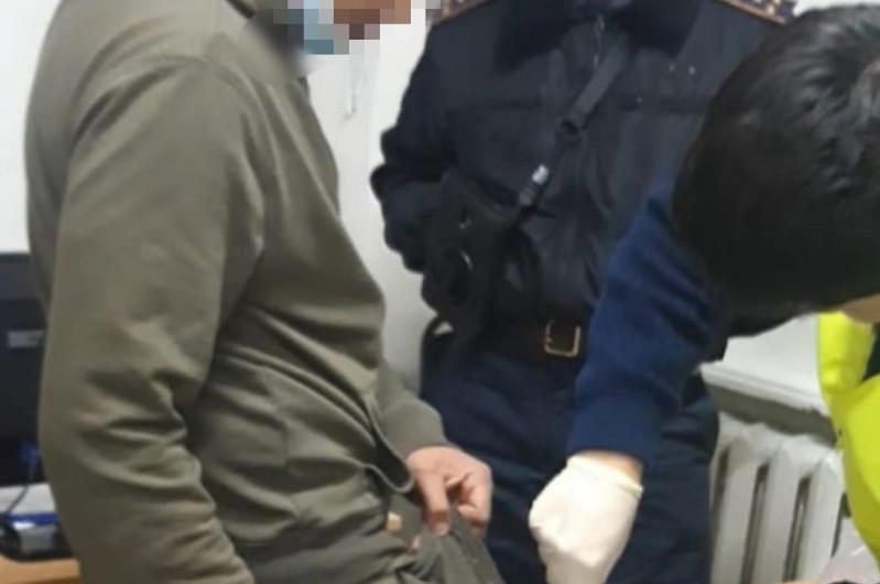 Водителя в наркотическом опьянениизадержали в Туркестанской области