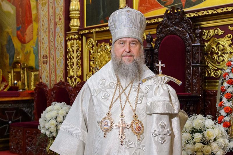 Metropolitan Alexander of Astana and Kazakhstan congratulates on Epiphany Day