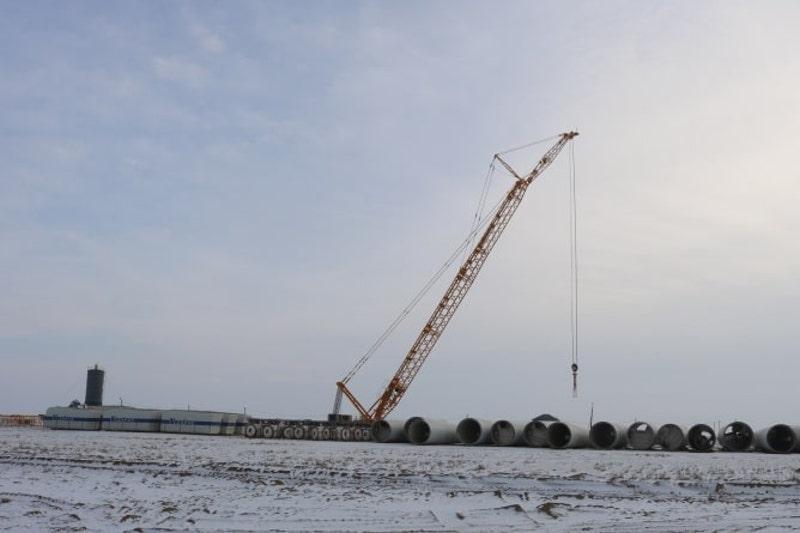 阿特劳州风电项目正式启动建设