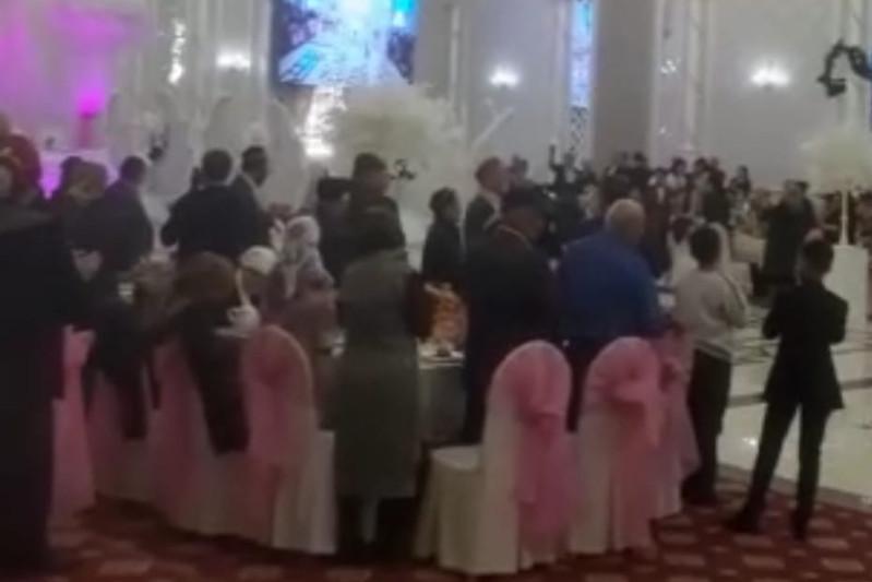 Свадебное торжество прервали полицейские в Сарыагаше