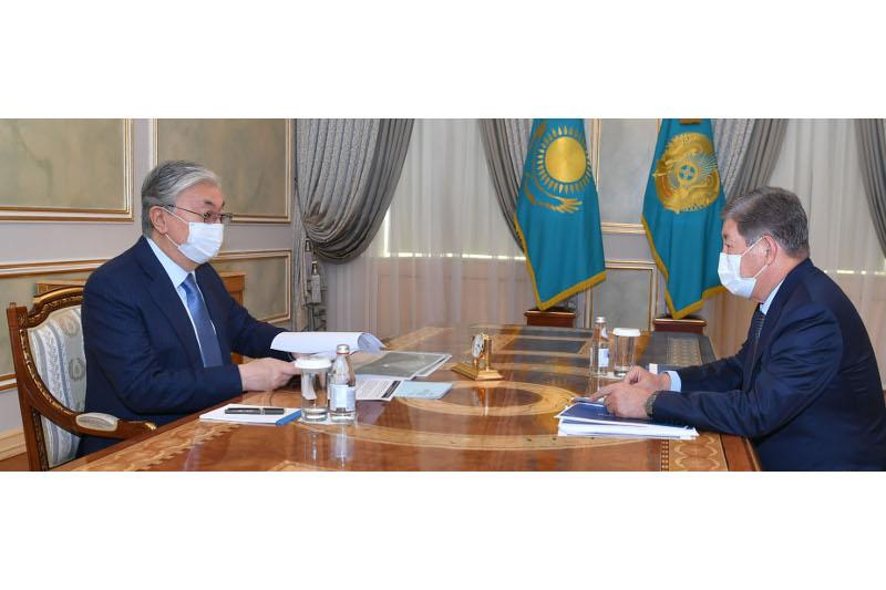 Президент Ахметжан Есімовке бірқатар нақты тапсырма берді