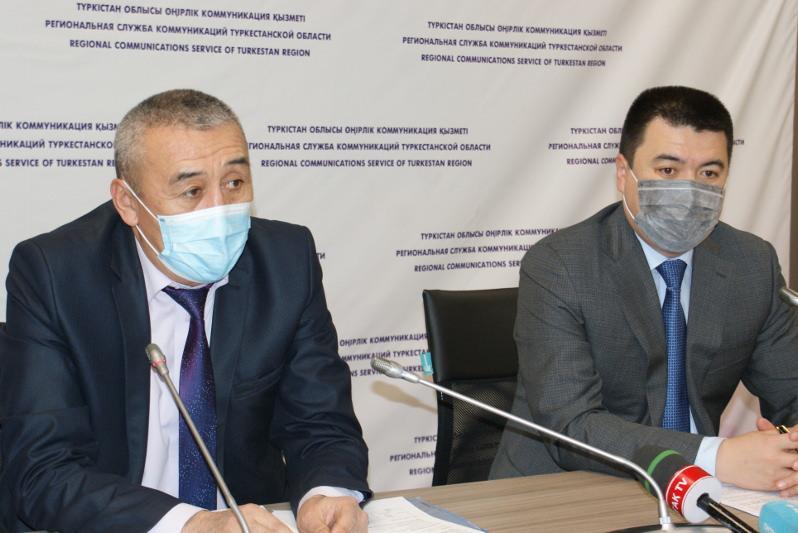 Түркістан облысында корнавирус вакцинасы алдымен медицина қызметкерлеріне салынады
