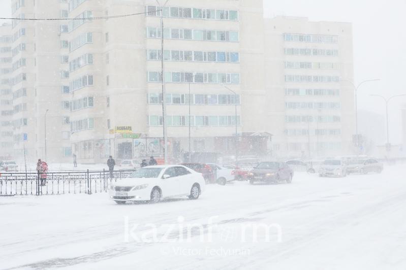 Метель ожидается в Казахстане 20 января