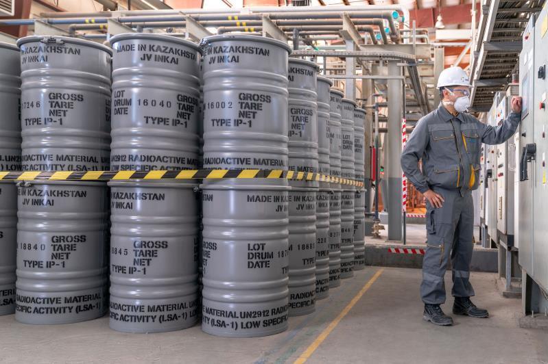 哈国家原子能工业公司的资本增至50亿坚戈