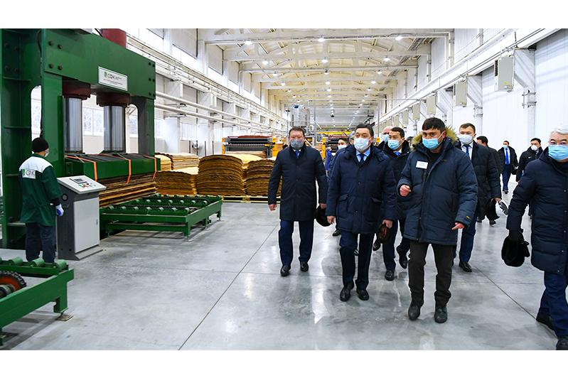 Аскар Мамин с рабочей поездкой посетил Северо-Казахстанскую область