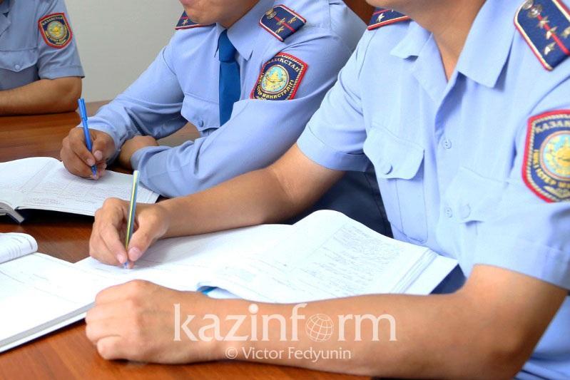 Акмолинские полицейские подписали меморандум с частными охранными организациями