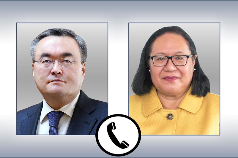 Глава МИД Казахстана провел телефонный разговор с заместителем генсекретаря ООН