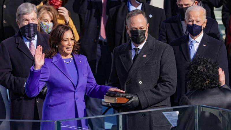 Камала Харрис стала первой женщиной на посту вице-президента США