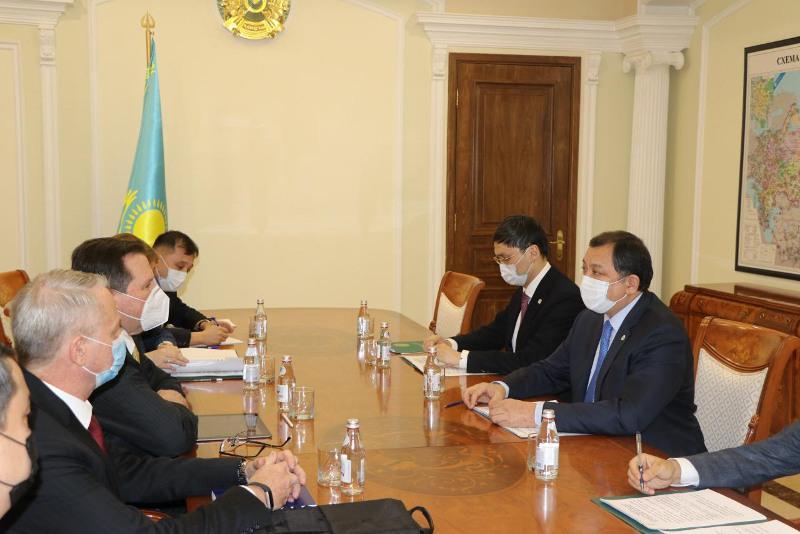 Энергетика министрі Tengizchevroil компаниясының жаңа бас директорын қабылдады