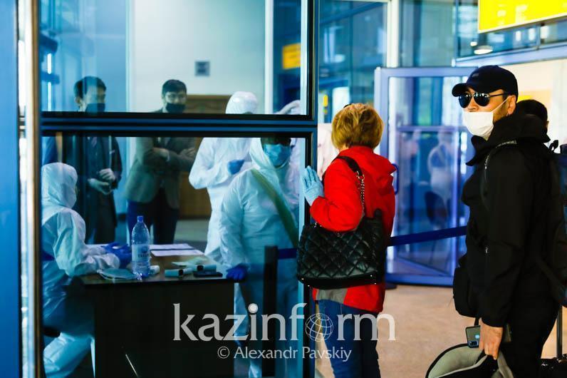Қазақстанға әуе рейсімен келген үш жолаушыдан коронавирус инфекциясы анықталды