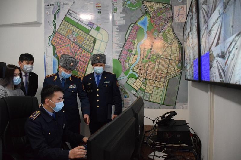 Мини-центр оперативного управления заработал в поселке Косшы