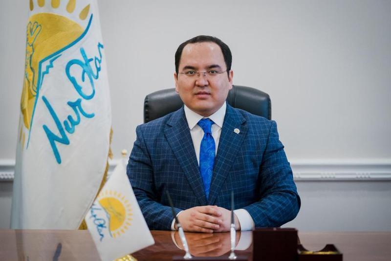 1stdeputy chairman of Nur-Sultan affiliate of Nur Otan named