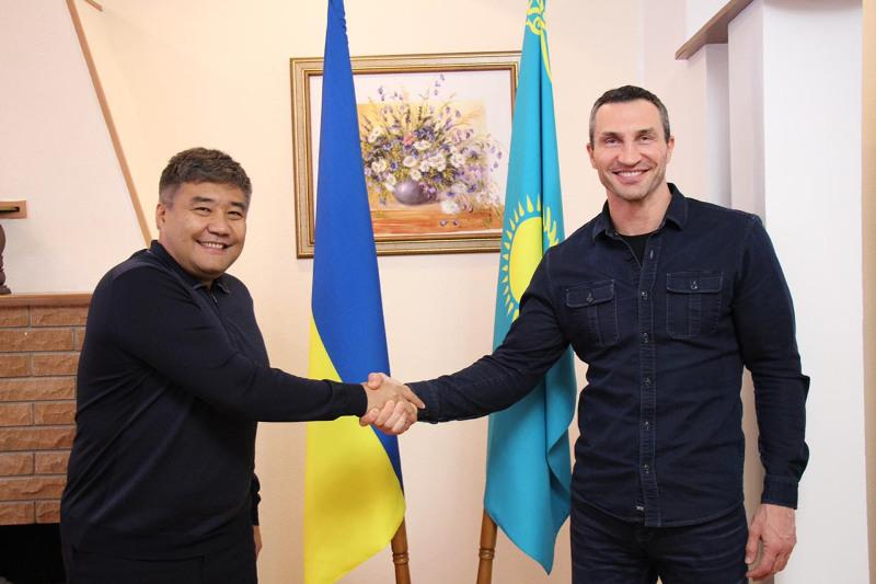 Владимир Кличко высказался о возможных совместных проектах в РК