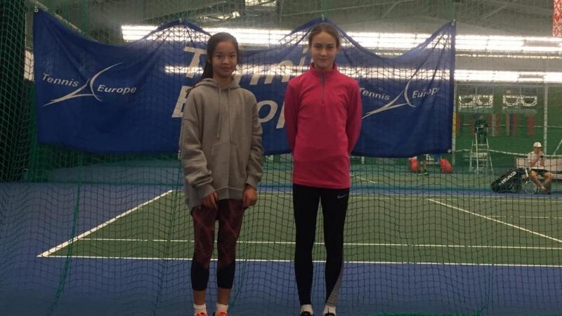 Казахстанка Зара Даркен вышла в полуфинал международного юниорского турнира SMENA CUP