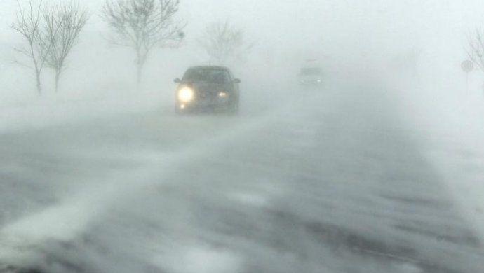 Метель и снегопад ожидаются в Казахстане 22 января