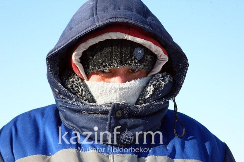 Понижение температуры до 40 градусов прогнозируют в Казахстане