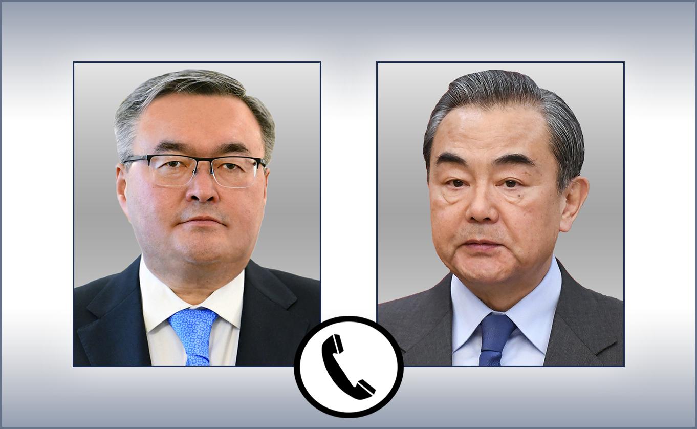 哈中两国外长举行电话会谈