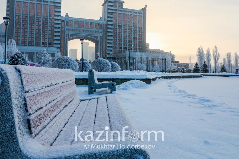Severe frosts to grip Kazakhstan