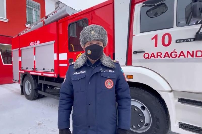 Қарағанды облысында жыл басынан бері 107 өрт оқиғасы тіркелді