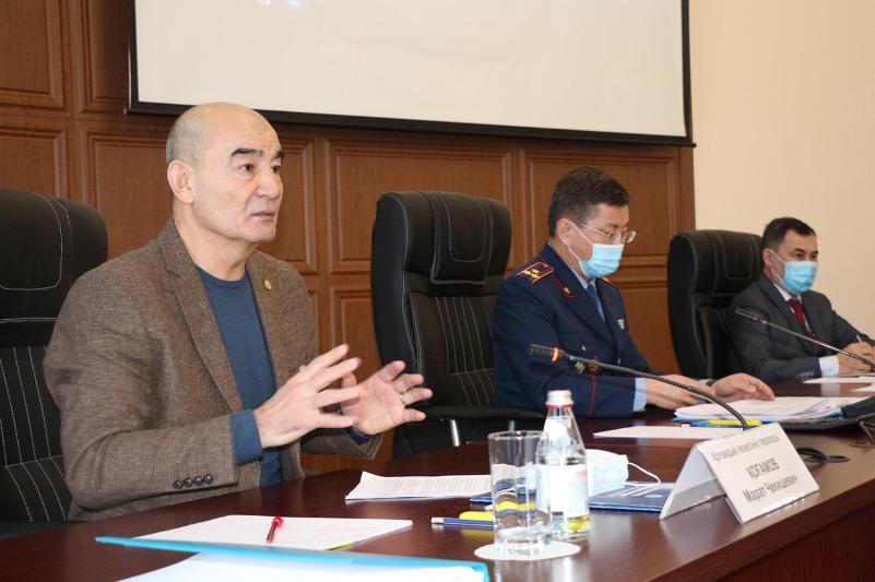 В ДП на транспорте прошла рабочая встреча Общественного совета при МВД РК