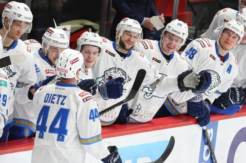 Хоккей: «Барыс» «Витязь» клубынан басым түсті