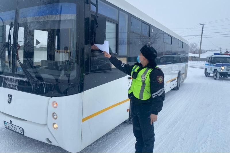 Оралда автобус жүргізушілері есірткіге елтіген күйде рульге отырған