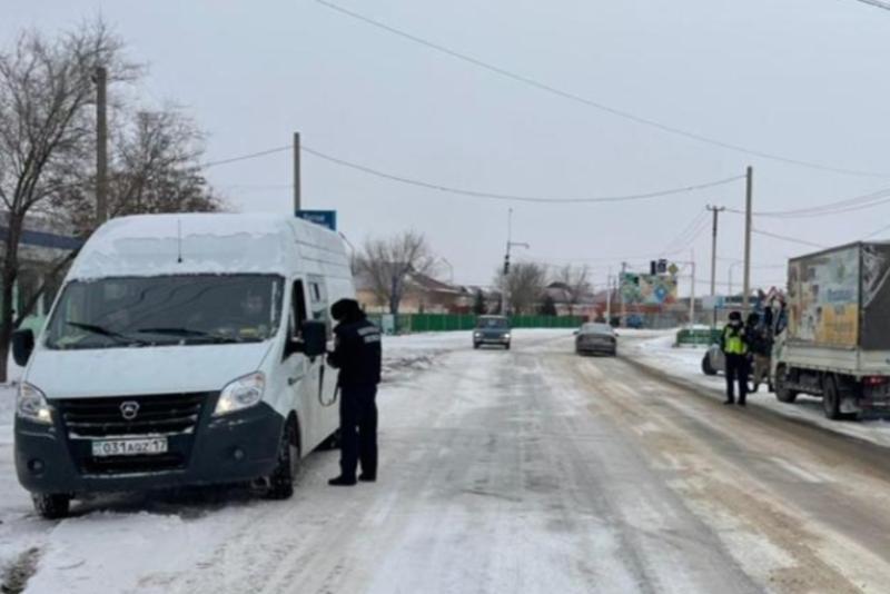 Более 500 нарушений за три дня совершили водители автобусов в Туркестанской области