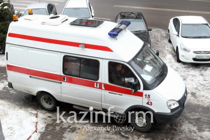 Мужчина пострадал из-за хлопка газовоздушной смеси в Алматы