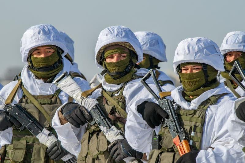 Боевые стрельбы проходят на полигоне «Илийский» в Алматинской области