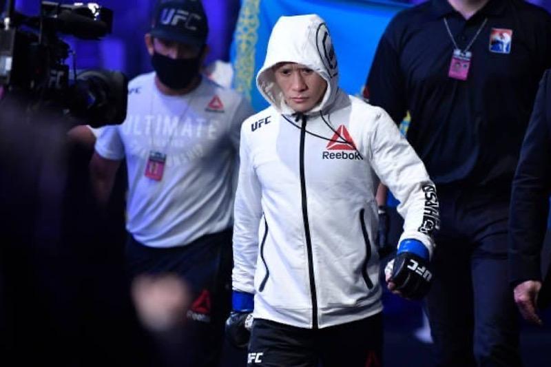 Стал известен гонорар Жалгаса Жумагулова за второй бой в UFC