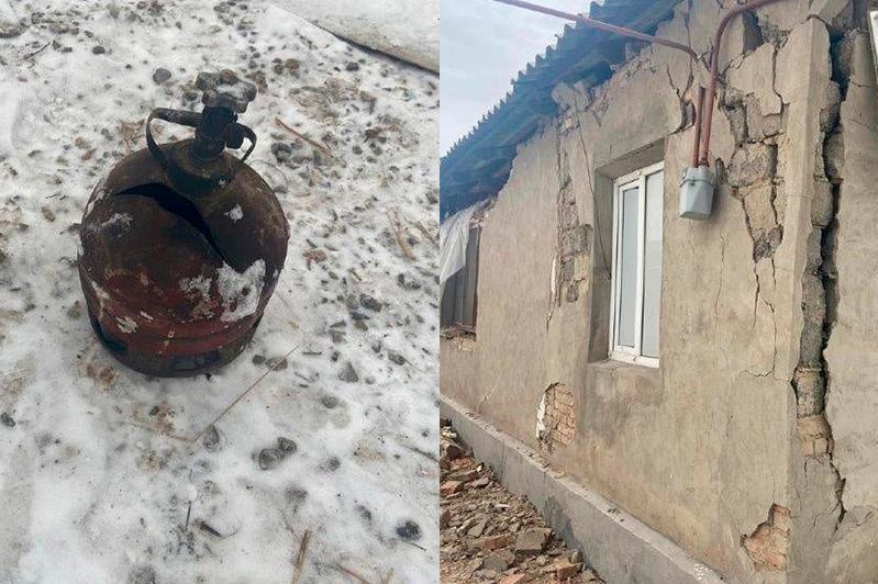 Взрослый и ребенок пострадали при взрыве газового баллона в Жамбылской области