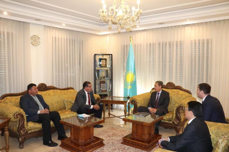 约旦举行哈萨克斯坦议会选举结果讨论会